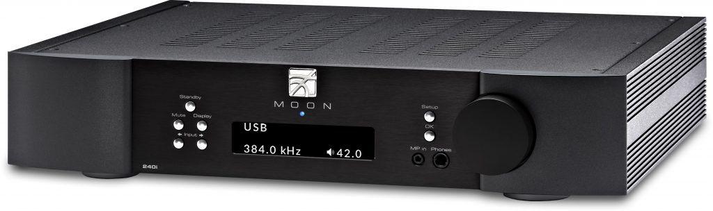 MOON 240i - Amplificador integrado - Negro